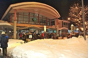 Bourg Saint maurice Bus Station