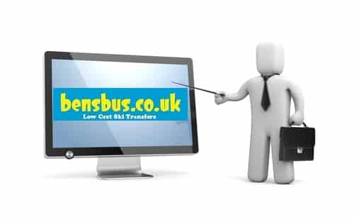 How to Book Bens Bus Ski Transfers