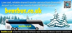 Extra Buses Grenoble Airport Ski Transfers