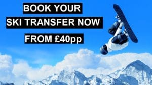 Book your ski transfer now