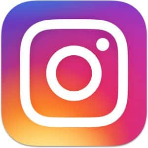 Instagram Logo Ben's Bus Ski Transfers