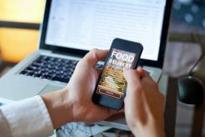Pay for Online Food shop in Val Thorens